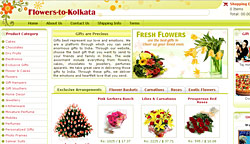 Flowers to Kolkata